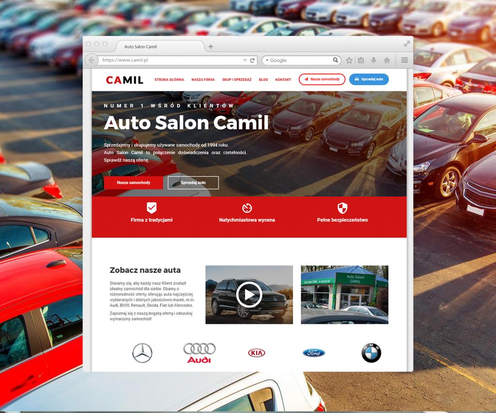 reklama w sieci - dobrze zaprojektowana strona internetowa